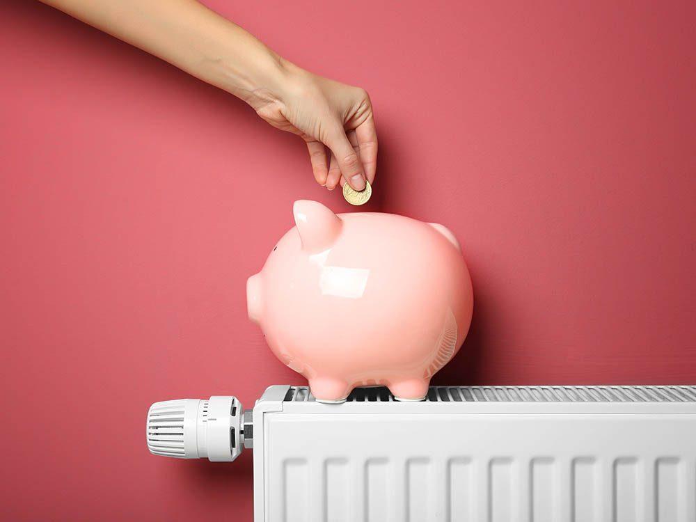 Pour réduire votre consommation d'électricité, chauffez intelligemment votre maison.