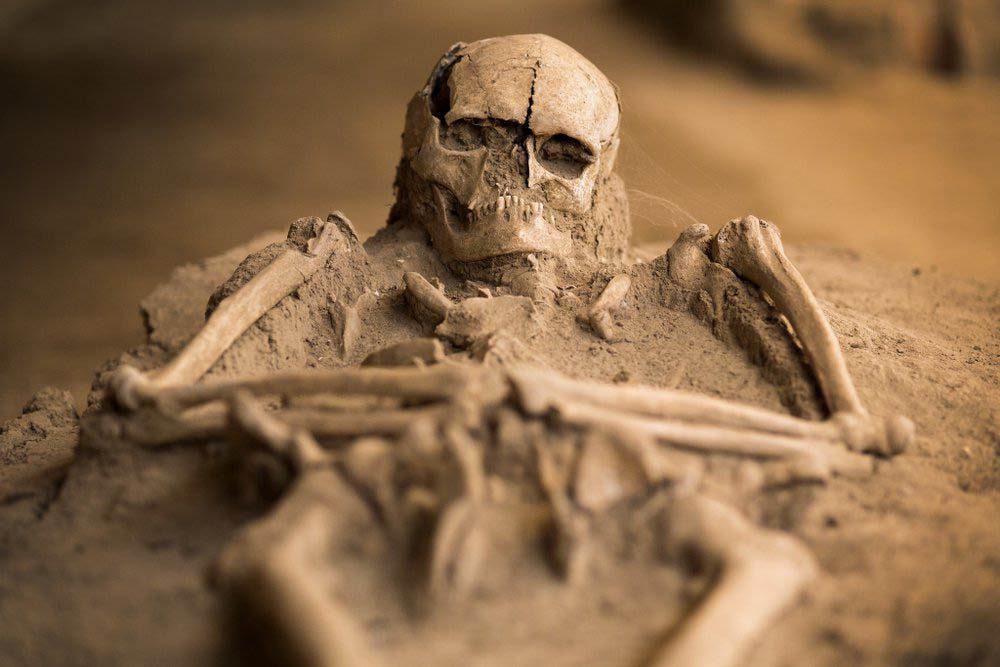 Découverte archéologique : des enfants infirmes enterrés comme des personnalités royales.
