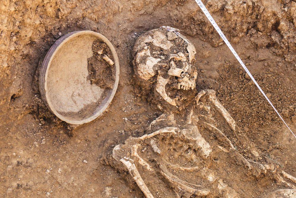 Une découverte archéologique a été faite en Suède : Le massacre de Sandby Borg.