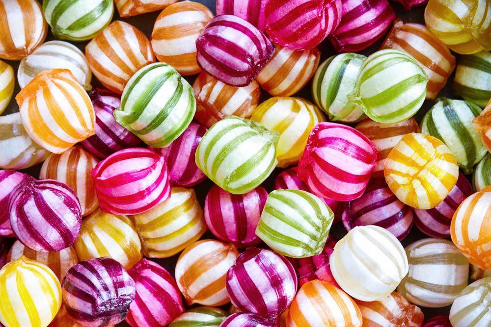 Votre dentiste ne mange pas de bonbons durs.