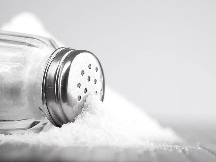 Votre dermatologue n'abuse pas du sel.
