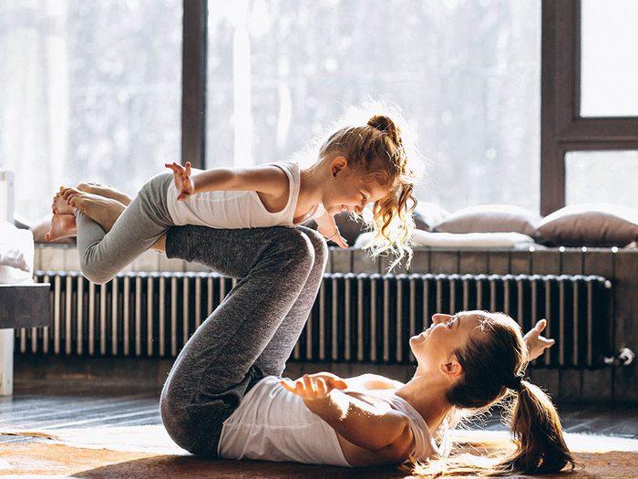 Passez des moments de qualité en famille en s'amusant ensemble.