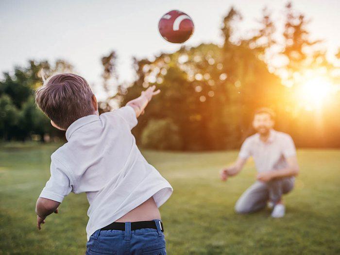 Passez du temps de qualité en famille en inscrivant les activités de vos enfants à votre agenda.