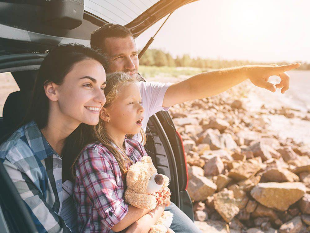 Prenez des vacances en famille pour passer du temps ensemble.