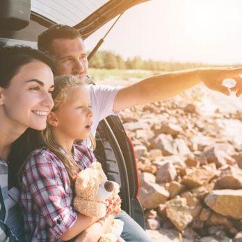 Planifier de grandes vacances en famille