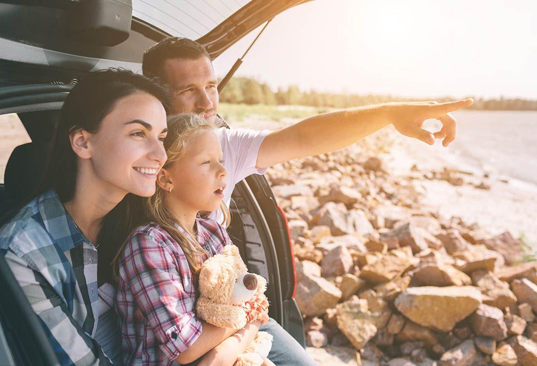 Prenez des vacances en famille.