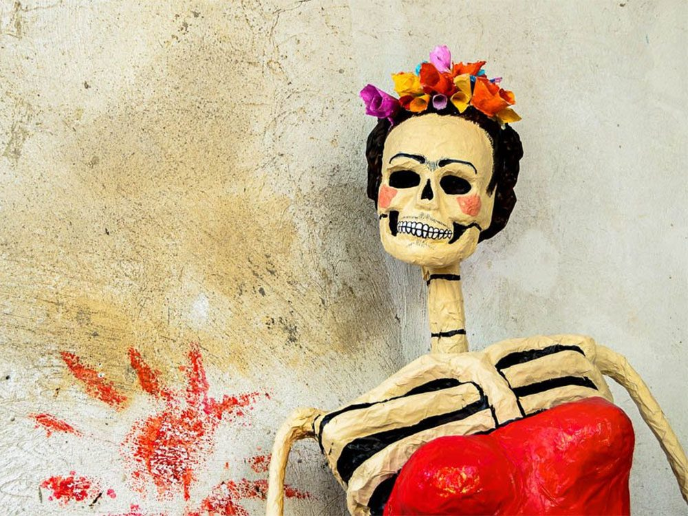 L'Halloween est un jour de fête au Mexique.