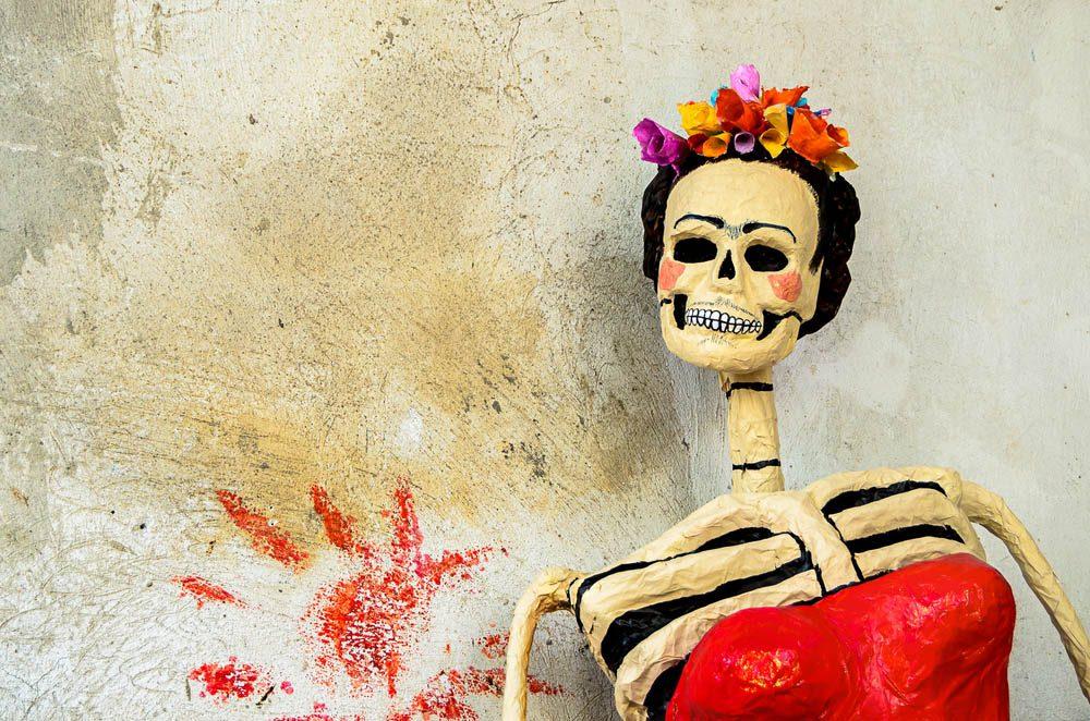 Halloween est un jour joyeux au Mexique.