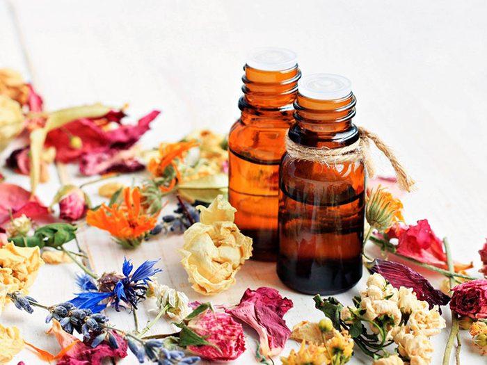 Les huiles essentielles peuvent être dangereuses.