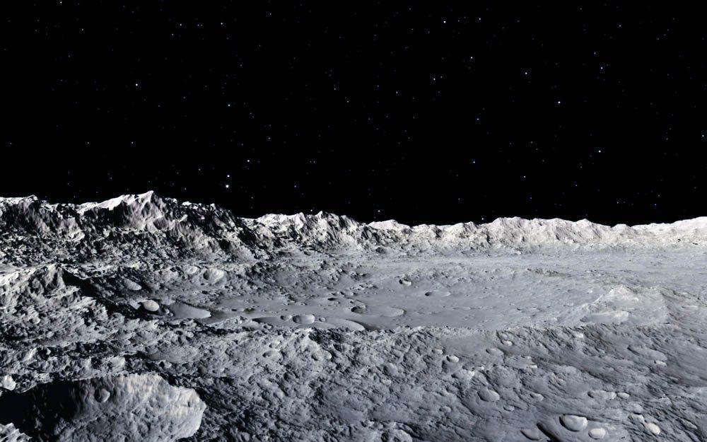 La Lune aurait 4,5 milliards d'années.