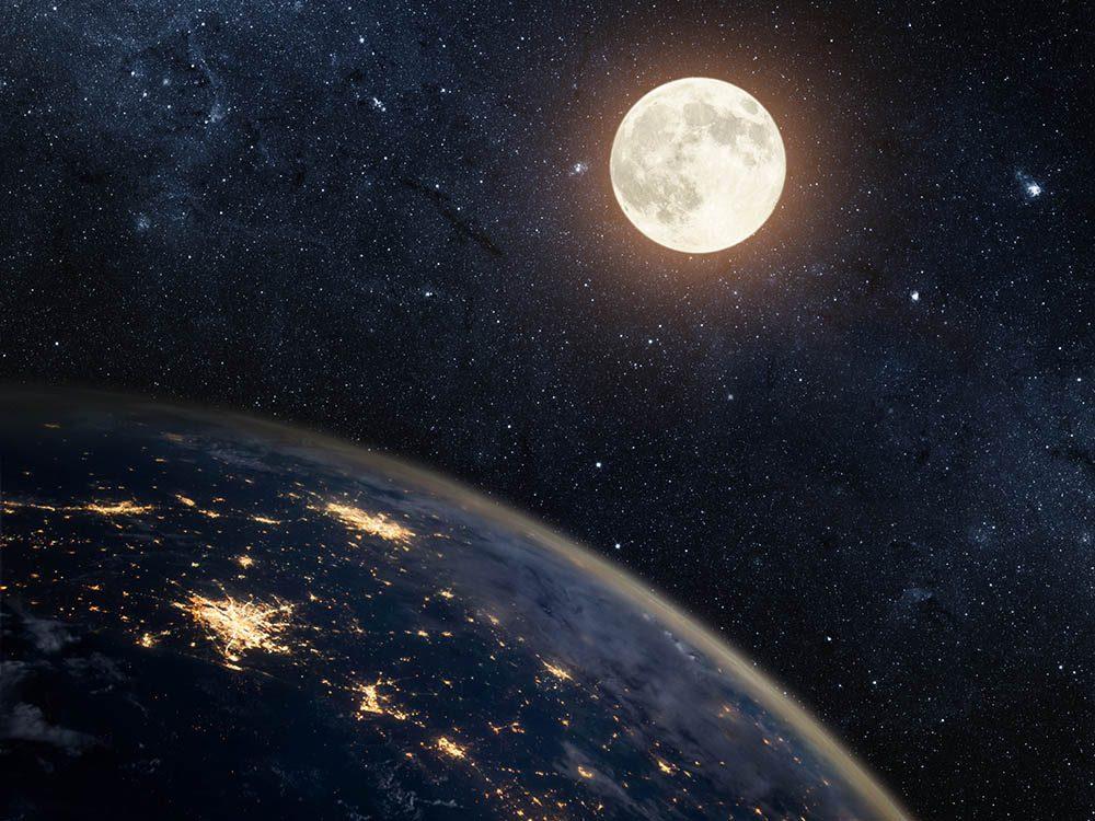 Chaque pleine Lune porte un nom.