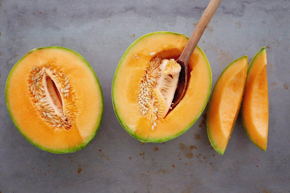Fortifiez votre métabolisme en replaçant les gâteaux par un cantaloup.