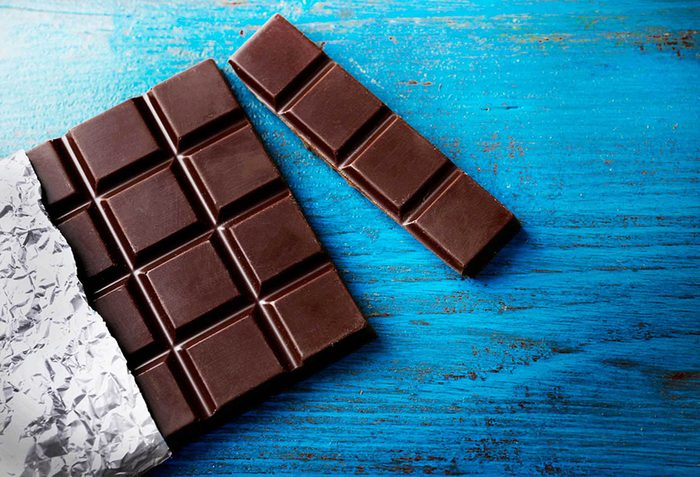 Métabolisme : le chocolat (très noir) est votre allié.