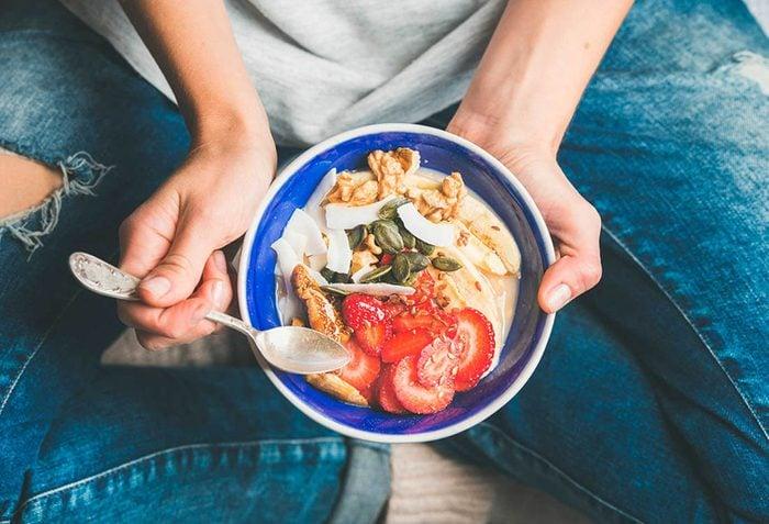 Métabolisme : prenez un déjeuner équilibré chaque matin.
