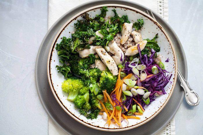 Pour fortifier votre métabolisme, misez sur les légumes.
