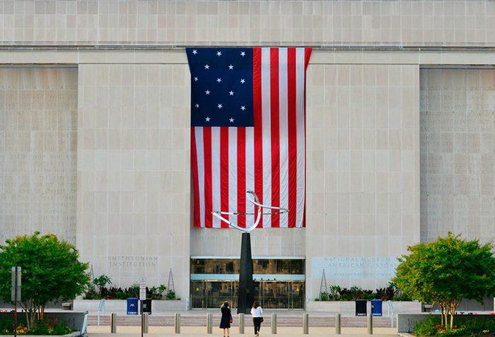 Musées du monde : le Musée national d'histoire américaine est l'un des plus visités.