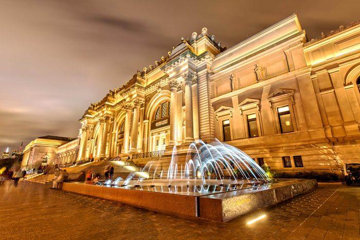 L'un des musées du monde les plus visités est le Metropolitan Museum of Art.