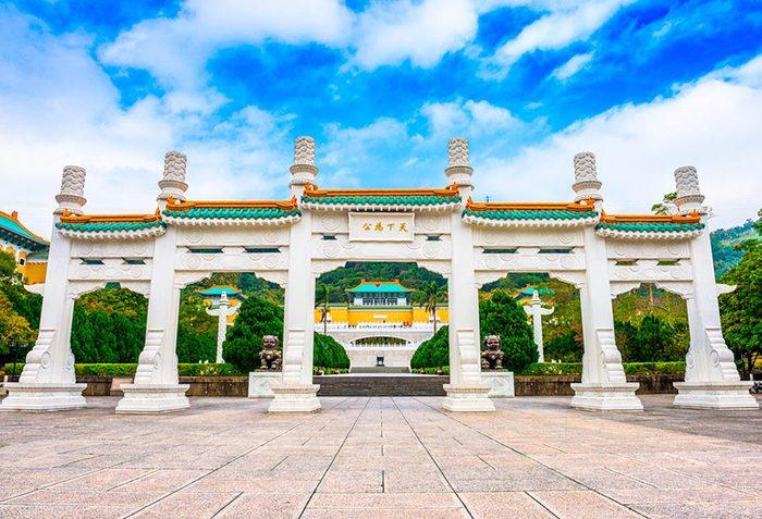 Musées du monde : le musée national du palais abrite les plus belles collections d'art chinois.