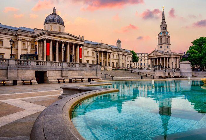 Musées du monde : Le National Gallery de Londres fait partie des plus populaires.