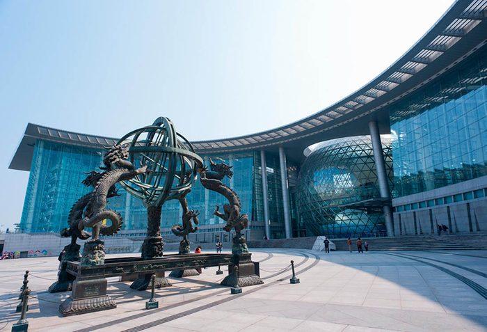 Musées du monde : le Musée des sciences et de la technologie de Shanghai est l'un des plus visités.