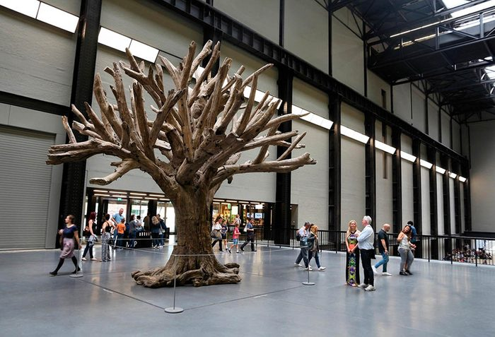 Musées du monde : le Tate Modern attire beaucoup de visiteurs.