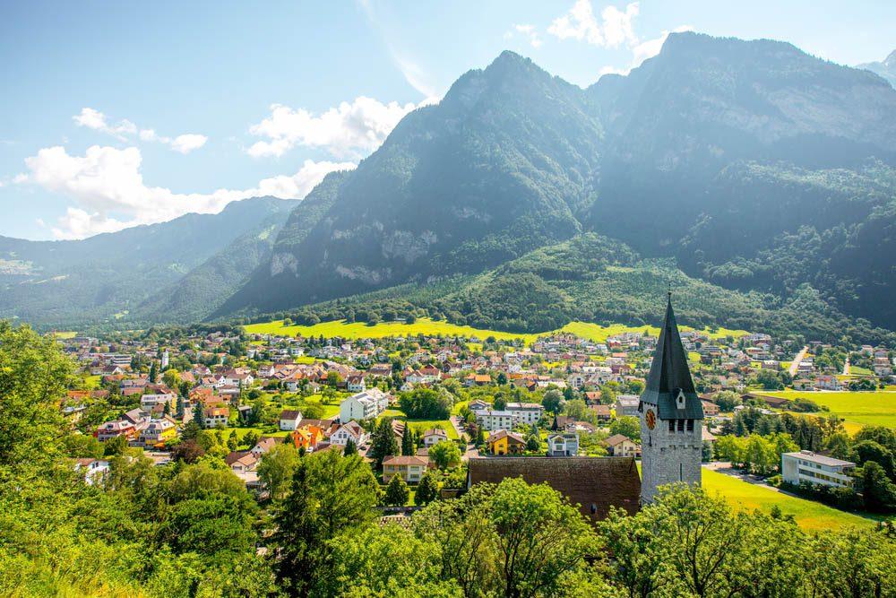 Le petit pays du Liechtenstein est le plus riche au monde.