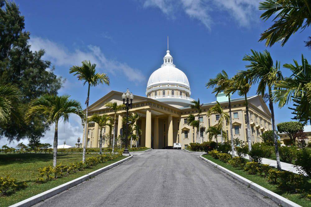 Le petit pays des Palaos est constitué de plusieurs centaines d'îles.