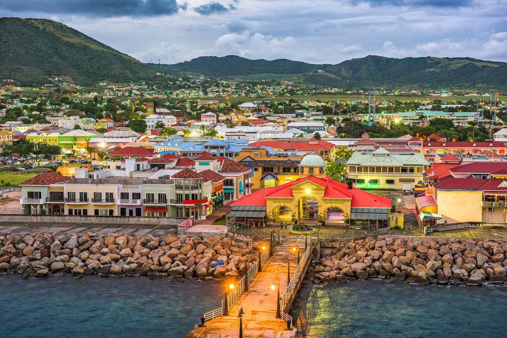 Le petit pays Saint-Christophe-et-Niévès est constitué de deux îles.