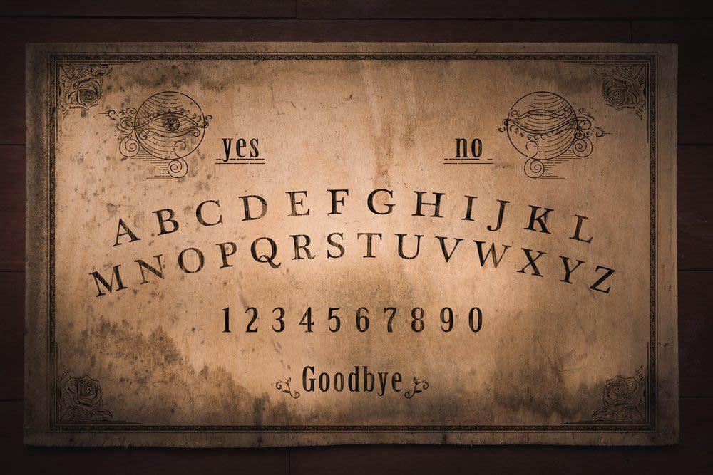 Après avoir joué avec une planche de Ouija, un homme de Pennsylvanie à vue une personne apparaitre.