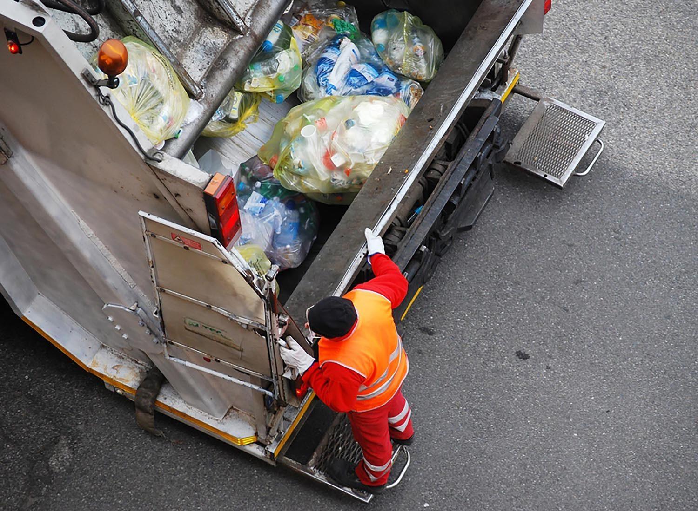 Les Les emballages en plastique représente une part importante des déchets.