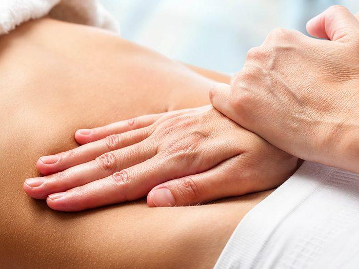 Psychothérapie corporelle : pour s'axer sur intestins essayez la Psychologie biodynamique.