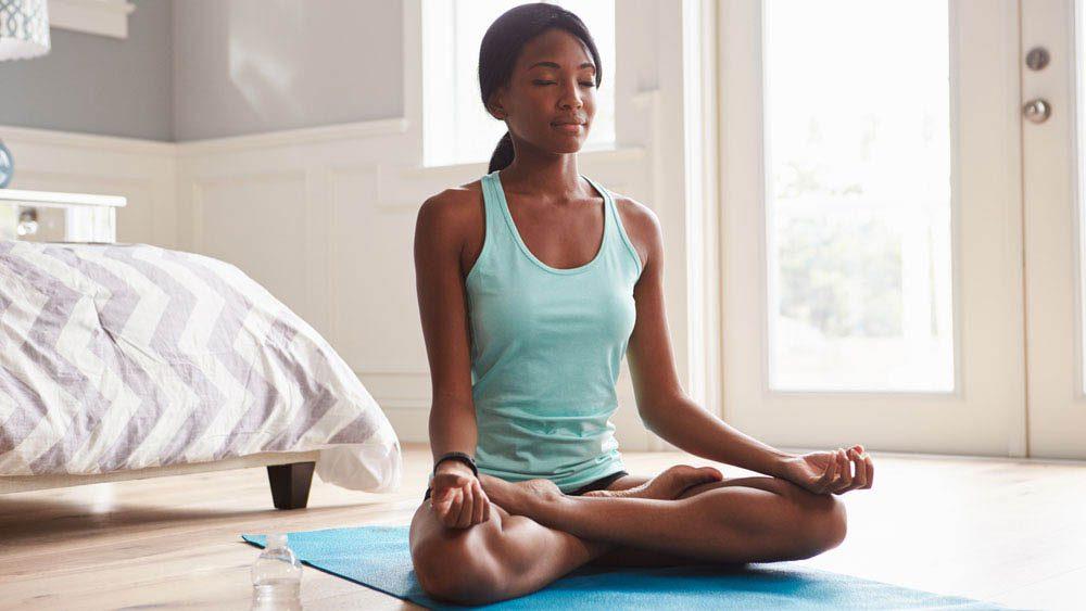 Remise en forme physique : faites de la méditation.