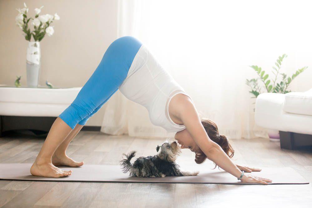 Pour une remise en forme physique : mettez-vous au yoga.