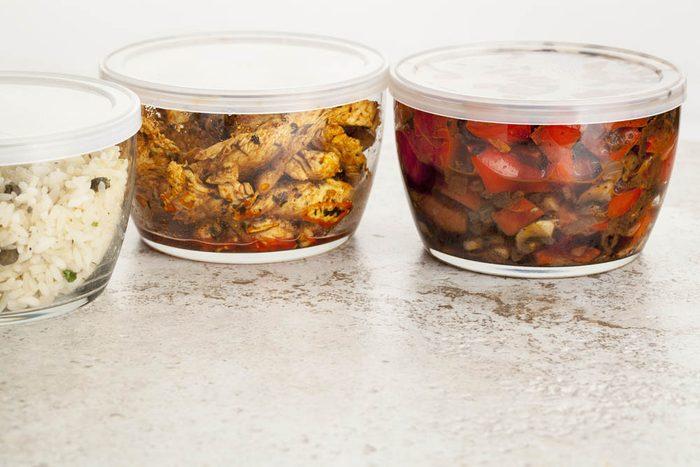 Le repas du soir est facile à préparer en recyclant les ingrédients.