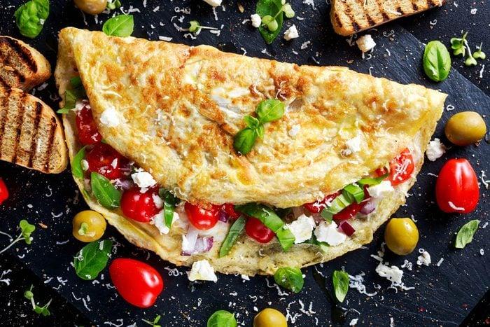 Le repas du soir peut être remplacé par un plat servi au déjeuner