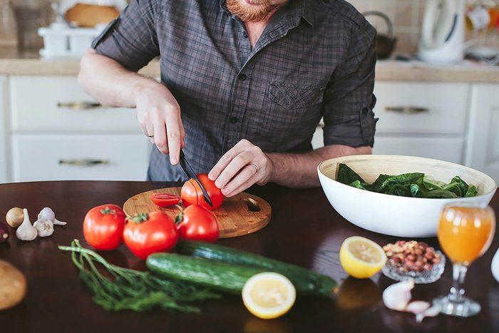 Tâches à faire : apprendre à cuisiner des repas rapides.