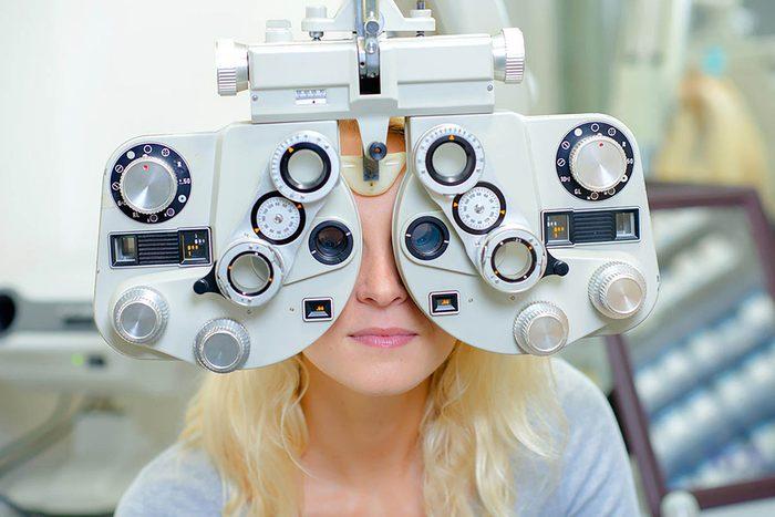 Tâches à faire : faire votre examen de la vue.