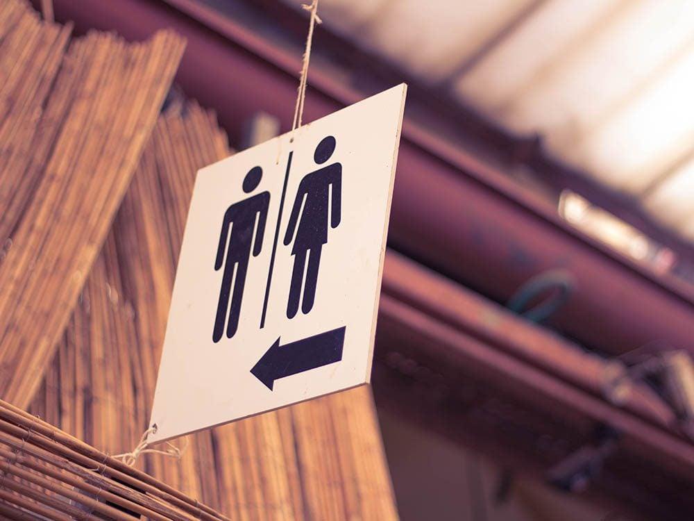 Toujours envie d'uriner : vous souffrez peut-être du syndrome de la vessie hyperactive.