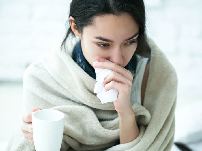 Le vaccin contre la grippe peut être utile même si vous êtes déjà tombé malade cette année.