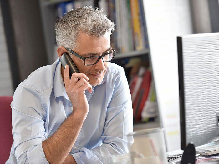 Si vous êtes victime de cambriolage, appelez votre compagnie d'assurance.