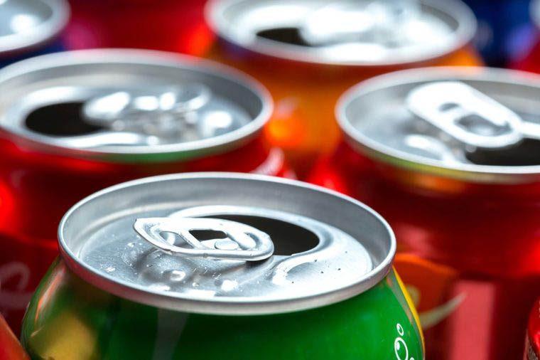 Aliment dangereux : les sodas.