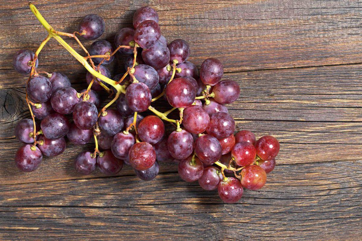 Pour une alimentation anti-inflammatoire, mangez du raisin.