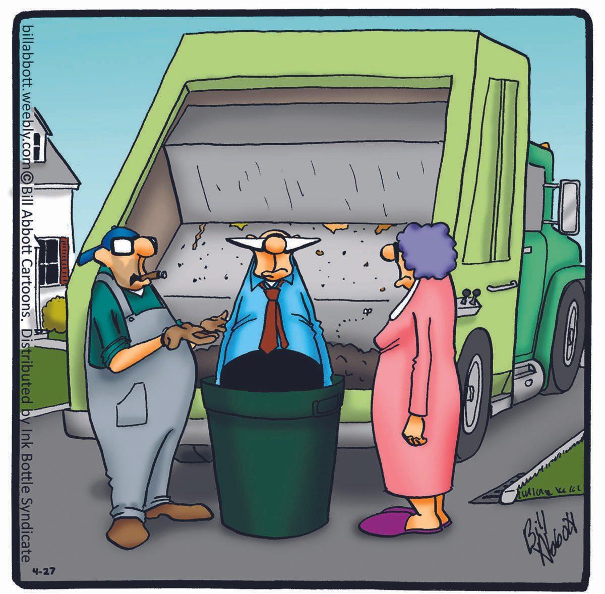 Blague : caricature de la vie de couple.