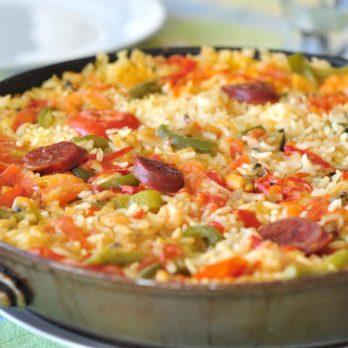 Salade de quinoa à l'avocat et au chorizo