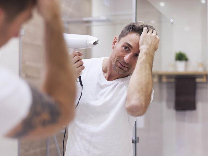 Vos cheveux risquent d'être abîmés si vous n'utilisez pas la bonne température.