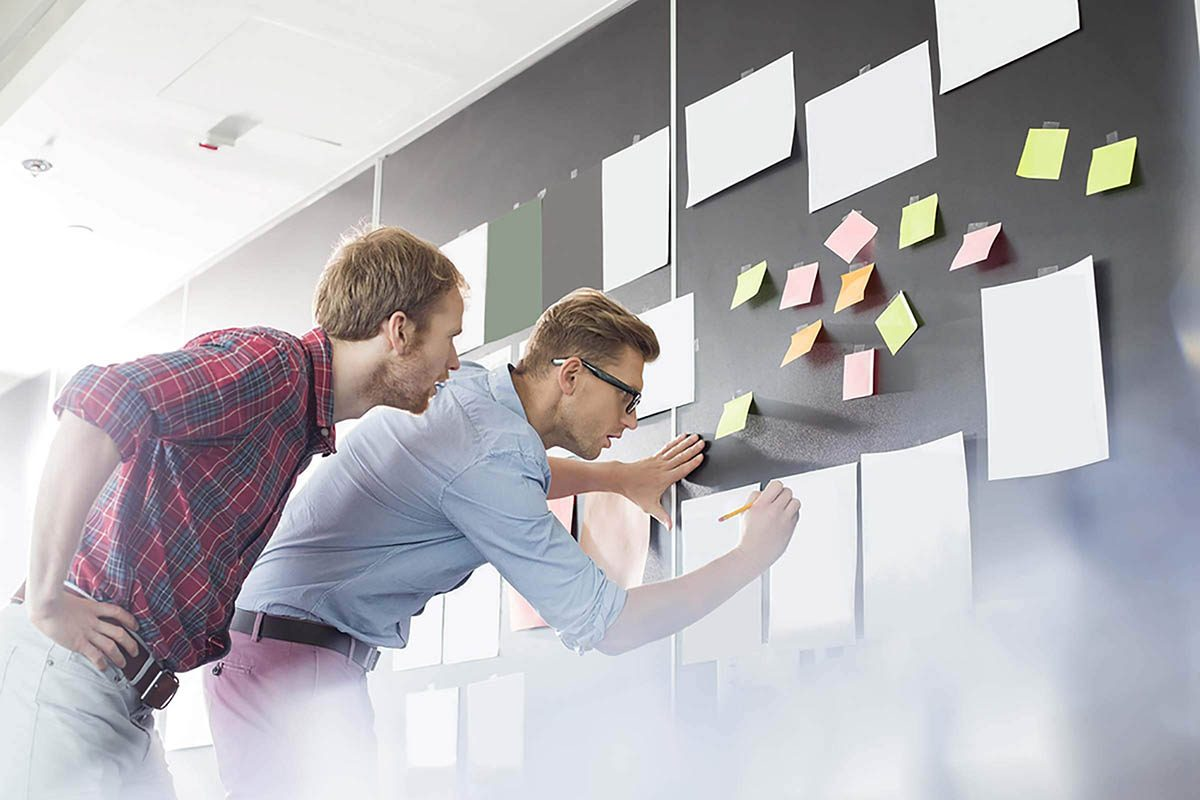 Compétence organisationnelle : attention aux notes adhésives.