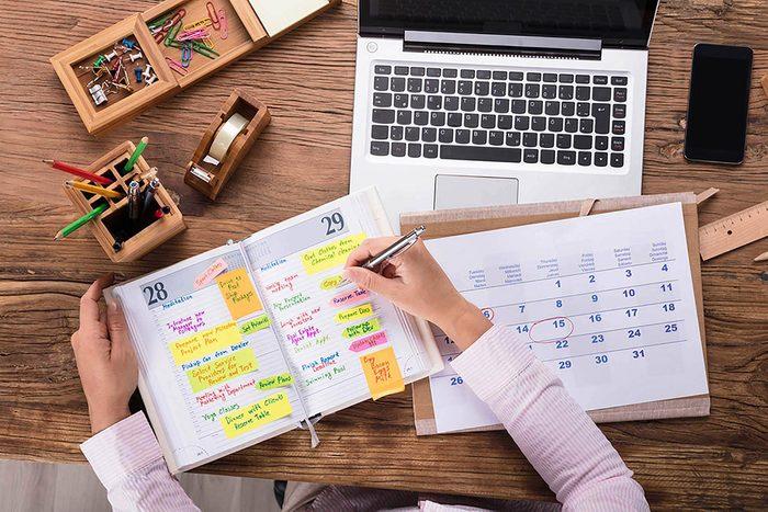 Compétence organisationnelle : mettez le rangement à l'ordre du jour.