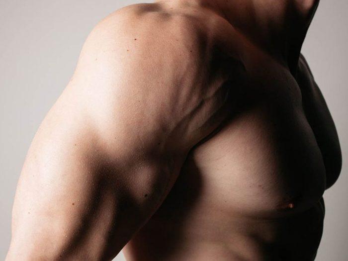 Les muscles de votre corps en hiver sont plus raides.