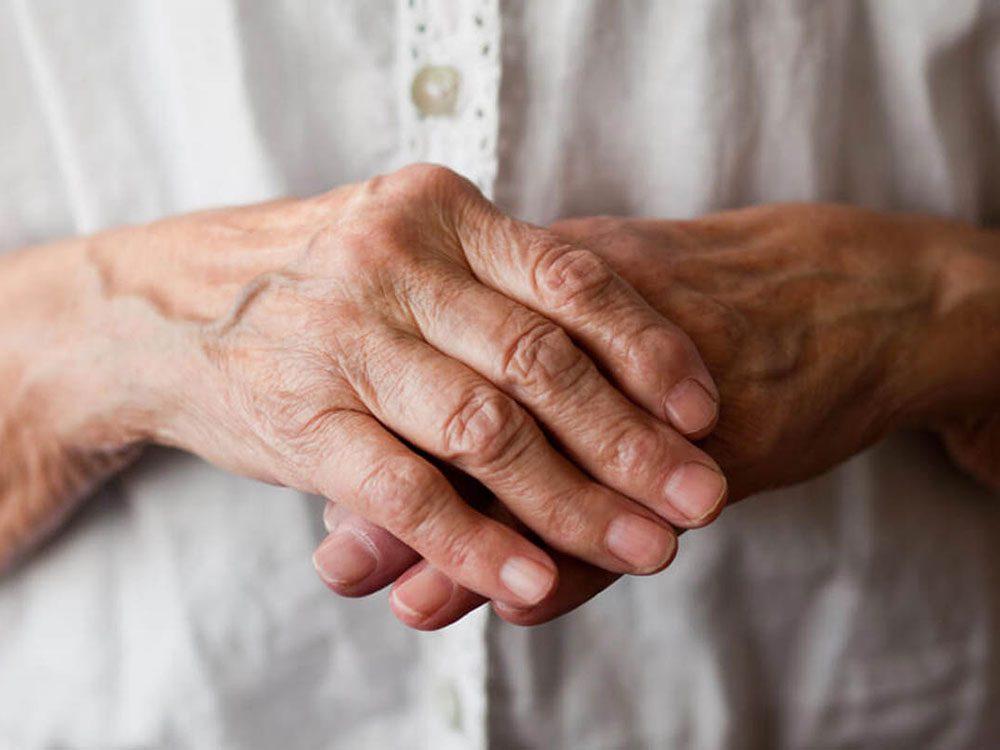 Corps en hiver: votre arthrite s'affole.
