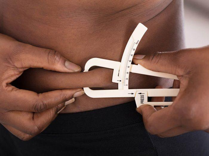 Corps en hiver: vous produisez un meilleur gras.